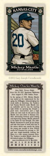 The Infinite Baseball Card Set Baseball Movies, Baseball Art, Baseball Players, The Mick, Jackie Robinson, Mickey Mantle, Infinite, Kansas City, Helmet