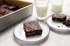 Much like its author, this recipe is a no-fuss classic It calls for just 1/4 cup of flour, which yields an incredibly rich and gooey brownie, and it's super easy to make So easy, in fact, that baking a batch of these might just become part of your weekend routine.