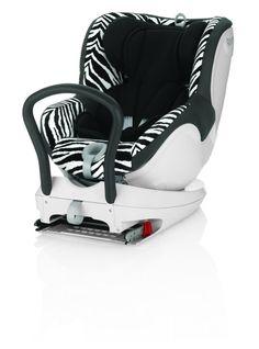 Fotelik samochodowy Römer Dual fix 2014, Smart Zebra | MALL.PL