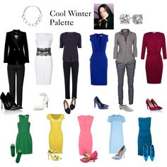 """Cool Winter Palette"" by expressingyourtruth on Polyvore"