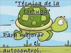 Técnica de la tortuga para mejorar el autocontrol.