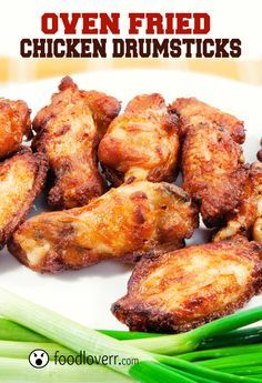 Oven Fried Chicken Drumsticks- loved these. The high temperature really helps make them crispy. Good seasoning/breading mix