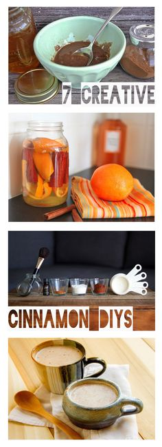 Sip it, wear it, and wash your hair with it! Celebrate the fall season with these easy DIYs for your whole life that incorporate cinnamon in unexpected ways.