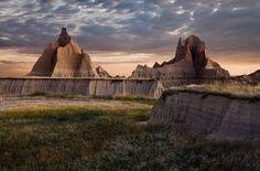 Badlands National Park, South Dakota.