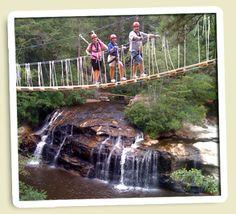 I love suspension bridges!