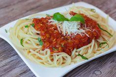 Vege boloňské špagety - Powered by @ultimaterecipe
