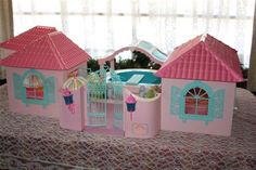 my little pony paradise estate. I wanted this SO bad. and never got it. such a deprived child