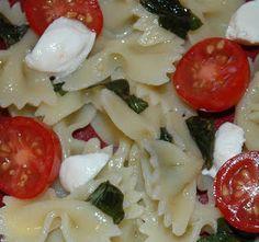 Caprese Pasta Salad-BBQ Friendly