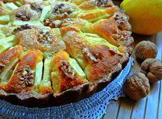 Denny Chef Blog: Torta ricotta, mele e noci