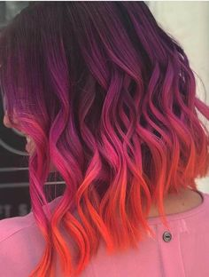 Pink has become one of the most demanding hair colors nowadays. See here our best ever collection of pink hair colors for ever hair color shades to get nowadays. Cute Hair Colors, Pretty Hair Color, Hair Color Shades, Beautiful Hair Color, Hair Color Pink, Hair Dye Colors, Hipster Hair Color, Wild Hair Colors, Rainbow Hair Colors