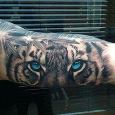 nice Tattoo Trends - Magazine - Top 15 des tatouages tigre - Allotattoo