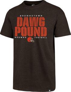 '47 Men s Cleveland Dawg Pound Club Brown T-Shirt 1891e595b