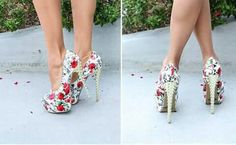 Flowers! Shoes!