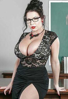 Leather big naked tits sun glasses