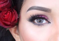 #Eyemakeup by @indianbeautytouch completing the look with #GLM12 ShopEyemimo.com/falseeyelashes-glm12