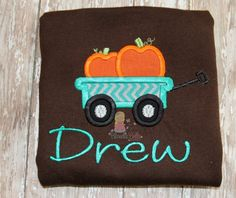A personal favorite from my Etsy shop https://www.etsy.com/listing/545302092/pumpkin-shirt-personalized-fall-t-shirt