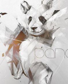 """Иллюстрации от Aleksis Marku """"Bad Panda"""" / Креатив / Funtema — развлекательная сеть"""