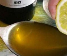 Esprema 1 limão e misture com 1 colher de azeite de oliva - e isto acontecerá! - Receitas Aki