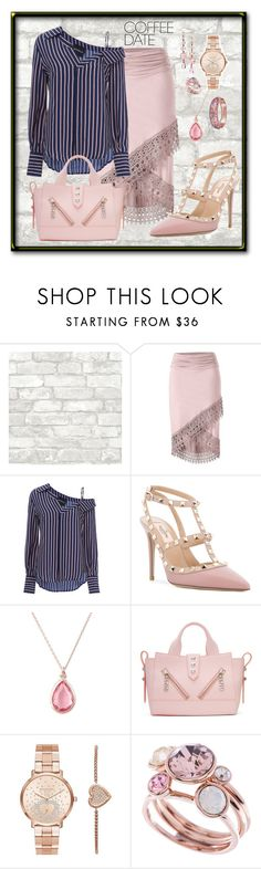 """Coffee Date"" by aurorasblueheaven ❤ liked on Polyvore featuring Venus, Nicholas, Valentino, Latelita, Kenzo, Michael Kors, Ted Baker, The Bradford Exchange and CoffeeDate"