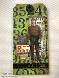 One Lucky Day: Mixed Media Etcetera Tags