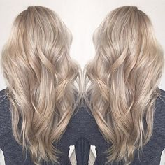 Warms and Cools Together  #nuttsabouthair  Formula: Babylighted Whole Head With Redken Flashlift 30vol. Plus Added Olaplex. Balayaged Through Remaining Ends With Clay Lightener. Broke Base With Schwarzkopf 6-12 20vol. Treated With Olaplex Step #2. Toned With Schwarzkopf 12-19 10-1 10vol. BOOM