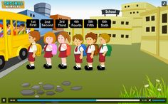 Teach your kids the concept of ordinal numbers with our simple, animated video. #ChildEducation