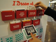 Shared Border, Shared Dreams is an interactive exhibition and simulation about undocumented immigrants in the U.S.
