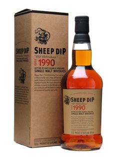 Review #49 - Sheep Dip Old Hebridean 1990 #scotch #whisky #whiskey #malt #singlemalt #Scotland #cigars