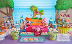 """Photo 1 of 17: Lalaloopsy Party / Birthday """"Lalaloopsy Pool Party"""" 