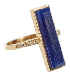 Jade Jagger Never Ending Sapphire Diamond Ring | From a unique collection of vintage cocktail rings at https://www.1stdibs.com/jewelry/rings/cocktail-rings/