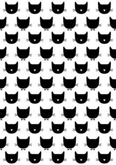 "Cats Art Print $18 8""x10"""