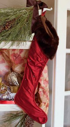 Christmas Stockings Lady Scarlett