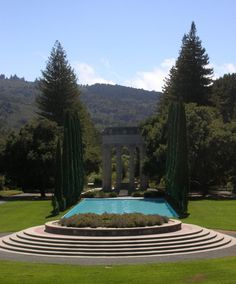 San Francisco built Pulgas Water Temple as a monument to the engineering marvel that brought Hetch Hetchy water more than 160 miles across California from the Sierra Nevada Mountains to the Bay Area. The Hetch Hetchy Project took 24 years to build through the Great Depression at a cost of $102 million.  Photo by Eric Zetterholm