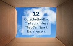 See 12 outside-the-box creative real estate marketing ideas to grow brand recognition for your business and generate leads. http://plcstr.com/1HpkJUe #realestate #marketing