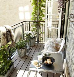 Podemos sim fazer do nosso pequeno apartamento um cantinho fofo e adorável!