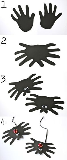 handprint spider how to