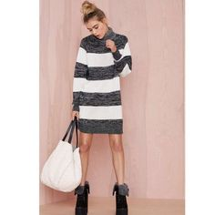"""Evil Twin Sweater Dress In perfect condition; SOLD OUT ONLINE. Purchased from NastyGal. Length: 33.5"""" Nasty Gal Dresses"""