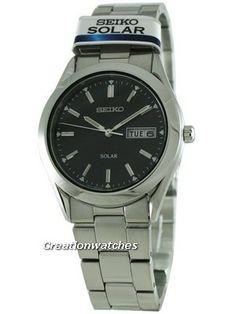 Seiko Solar Quartz SNE039P1 SNE039 SNE039P Men's Watch Seiko Solar, Omega Watch, Watches For Men, Quartz, Accessories, Men's Watches, Jewelry Accessories