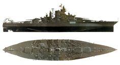 USS Tennessee - Tennessee class Battleship