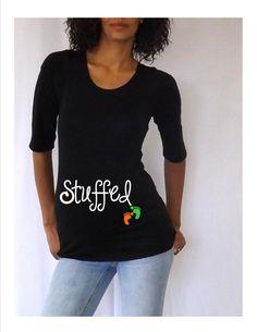 f2d718c85 Black Thanksgiving Maternity Tshirt Stuffed by DJammarMaternity, $24.99 Pregnancy  Shirts, Pregnancy Outfits, Pregnancy