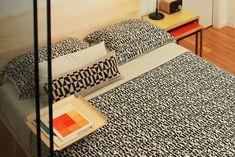 modern house interior geometric op art