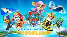 Paw Patrol the puppies take off | Patrulha Canina os filhotes decolam #001