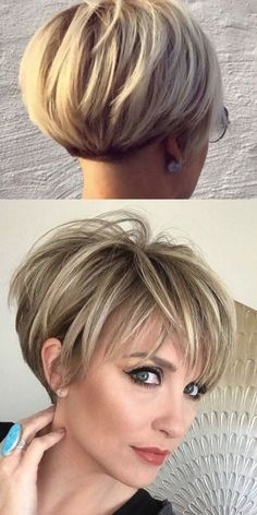 Short Hairstyles For Thick Hair, Haircuts For Fine Hair, Short Hair With Layers, Curly Hair Styles, Prom Hairstyles, Hairstyles Videos, Weave Hairstyles, Everyday Hairstyles, Elegant Hairstyles