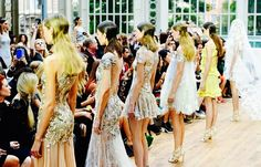 Finale from Julien Macdonald SS15 collection at London Fashion Week