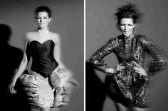 Projektant Gabriela Hezner    modelka : Ilona Felicjańska  fotograf  Daniel Rudzki  stylizacja: Monika Grzeszczyk