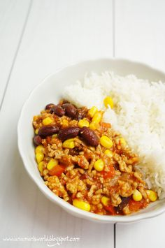 My space, my world.: Chili con carne na szybki obiad Chana Masala, I Foods, Catering, Asia, Food And Drink, Meal, Space, Cooking, Ethnic Recipes