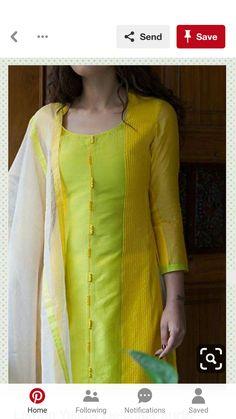 indian fashion Suits -- Click VISIT link for Churidar Neck Designs, Kurta Neck Design, Salwar Designs, Kurta Designs Women, Kurti Designs Party Wear, Dress Neck Designs, Blouse Designs, Chudi Neck Designs, Indian Designer Outfits