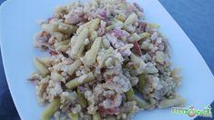 Zöldbabos bulgur - FittKonyha Pasta Salad, Risotto, Grains, Rice, Healthy Recipes, Cukor, Ethnic Recipes, Food, Fitness