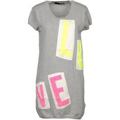 LOVE MOSCHINO Short dress ($199) via Polyvore