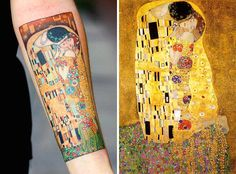 If you're after ideas for your next body inking then check out these stunning Gustav Klimt tattoos for some truly artistic inspiration. Gustav Klimt (1862-